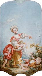 The Grape Gatherer | Fragonard | Painting Reproduction