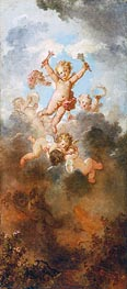 The Progress of Love: Love Triumphant | Fragonard | Gemälde Reproduktion