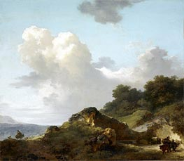 The Rock | Fragonard | Painting Reproduction