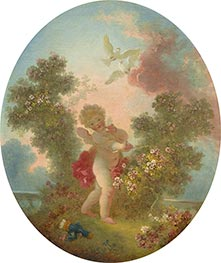 Love the Sentinel | Fragonard | Painting Reproduction