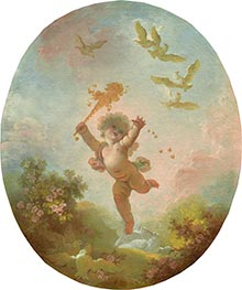 Love as Folly, c.1773/76 by Fragonard | Painting Reproduction