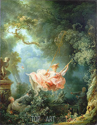 The Swing, 1767 | Fragonard | Painting Reproduction