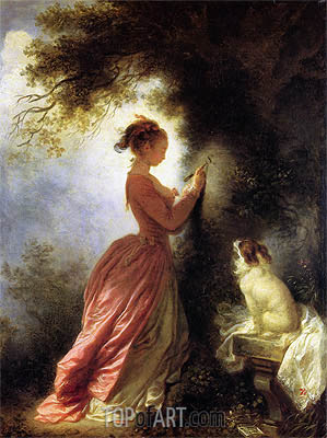 The Souvenir, c.1776/78 | Fragonard | Gemälde Reproduktion