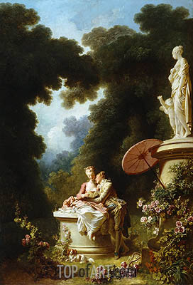 Love Letters, c.1771/73 | Fragonard | Painting Reproduction