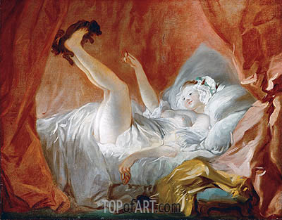 Gimblette, undated | Fragonard | Painting Reproduction