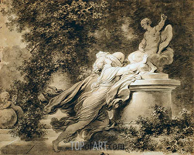 Invocation to Love, c.1781 | Fragonard | Painting Reproduction