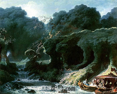 The Fete at Rambouillet (The Island of Love), c.1770 | Fragonard | Painting Reproduction