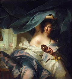Thalia, Muse of Comedy, 1739 by Jean-Marc Nattier | Painting Reproduction