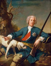 Portrait of Alexander Kurakin | Jean-Marc Nattier | Painting Reproduction