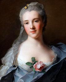 Manon Balletti | Jean-Marc Nattier | Painting Reproduction