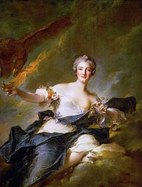 The Duchess of Chaulnes as Hebe, 1744 von Jean-Marc Nattier | Gemälde-Reproduktion