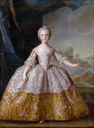 Isabelle of Parma as a Child | Jean-Marc Nattier | Gemälde Reproduktion