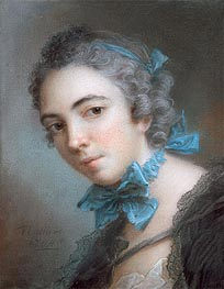 Young Girl, 1744 by Jean-Marc Nattier | Painting Reproduction