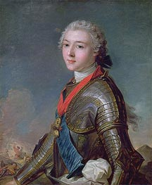 Louis Jean Marie de Bourbon Duke of Penthievre, 1743 by Jean-Marc Nattier | Painting Reproduction