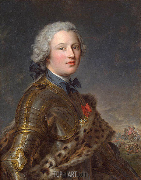 Portrait of Pierre-Victoire, Baron of Besenval, undated | Jean-Marc Nattier | Gemälde Reproduktion