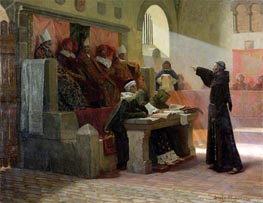 The Agitator of Languedoc, 1887 by Jean-Paul Laurens | Painting Reproduction