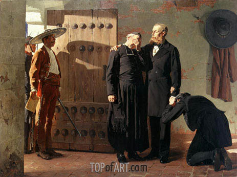 The Last Moments of Maximilian, 1882 | Jean-Paul Laurens | Painting Reproduction
