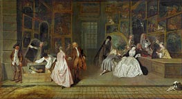 The Gersaint Shop Sign | Watteau | Painting Reproduction