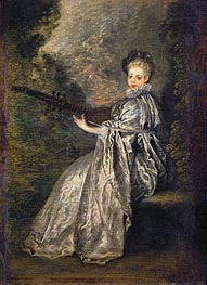 La Finette | Watteau | Painting Reproduction