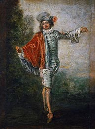 L'Indifferent | Watteau | Painting Reproduction
