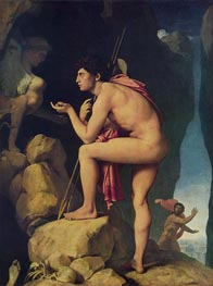 Oedipus and the Sphinx, 1808 von Ingres | Gemälde-Reproduktion