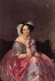 Betty de Rothschild, Baronne de Rothschild | Ingres | Painting Reproduction