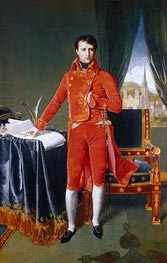 Napoleon as First Consul | Ingres | Painting Reproduction