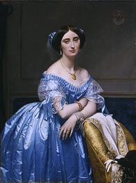 Princesse Albert de Broglie | Ingres | Painting Reproduction