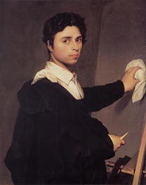 Ingres as a Young Man | Ingres | Painting Reproduction