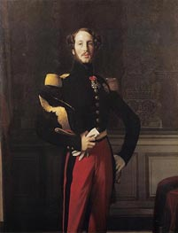 Ferdinand-Philippe-Louis-Charles, Duke of Orleans | Ingres | Painting Reproduction