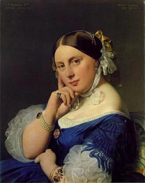Delphine Ramel, Madama Ingres | Ingres | Painting Reproduction