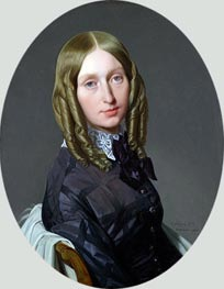 Augustine-Modeste-Hortense Reiset, 1846 by Ingres | Painting Reproduction