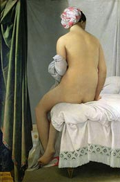Valpincon Bather | Ingres | Painting Reproduction