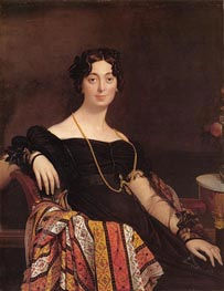 Madame Jacques-Louis Leblanc, 1823 by Ingres | Painting Reproduction
