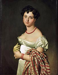 Madame Henri-Philippe-Joseph Panckouke | Ingres | Painting Reproduction