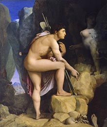Oedipus and the Sphinx | Ingres | Painting Reproduction