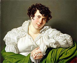Portrait of a Young Woman, c.1805 by Ingres | Painting Reproduction