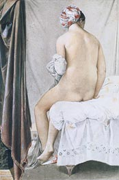 The Bather, 1808 by Ingres | Painting Reproduction