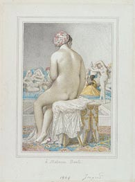 Turkish Bath, 1864 by Ingres | Painting Reproduction