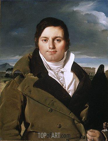 Joseph-Antoine Moltedo, c.1810 | Ingres | Painting Reproduction