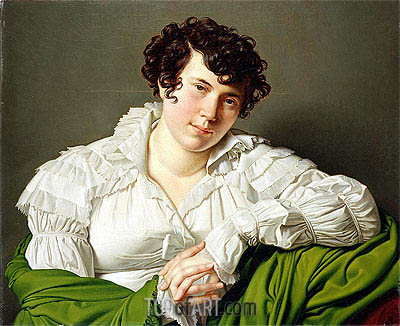 Portrait of a Young Woman, c.1805 | Ingres | Painting Reproduction