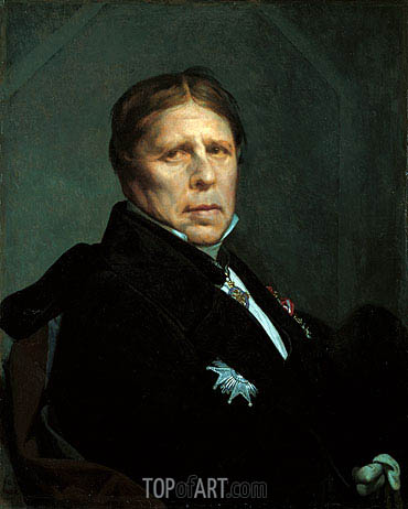 Self Portrait, 1859 | Ingres | Painting Reproduction