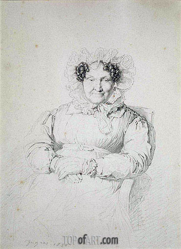 Portait of a Lady, 1828 | Ingres | Painting Reproduction