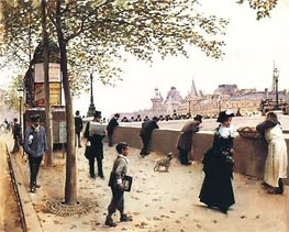Pont-Neuf, Undated by Jean Beraud | Painting Reproduction