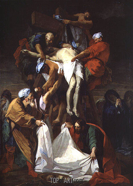 The Descent from the Cross, 1697 | Jean-Baptiste Jouvenet | Painting Reproduction