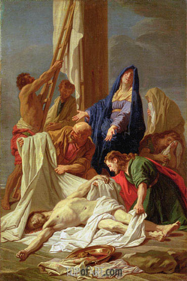 The Descent from the Cross, c.1704/10 | Jean-Baptiste Jouvenet | Painting Reproduction