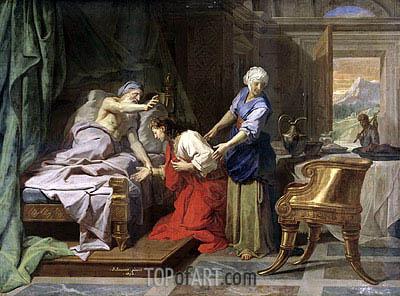 Isaac Blessing Jacob, 1692 | Jean-Baptiste Jouvenet | Painting Reproduction