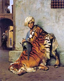 Pelt Merchant of Cairo | Gerome | Painting Reproduction
