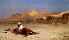 The Arab and his Steed (In the Desert), 1872 by Gerome | Painting Reproduction