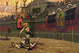 Pollice Verso (Thumbs Down) | Gerome | Painting Reproduction